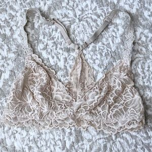 Other - Pale Pink Lace Bralette Medium